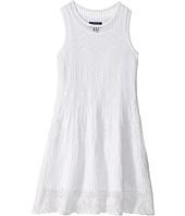 Polo Ralph Lauren Kids - Combed Cotton Pointelle Dress (Little Kids)