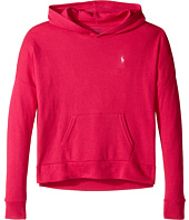 Polo Ralph Lauren Kids - Cotton Modal Hoodie (Little Kids/Big Kids)