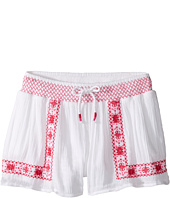 Polo Ralph Lauren Kids - Gauze Smocked Shorts (Little Kids)
