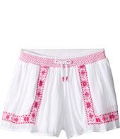 Polo Ralph Lauren Kids - Gauze Smocked Shorts (Big Kids)