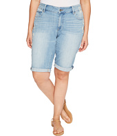 Lucky Brand - Plus Size Ginger Bermuda Shorts in Withered