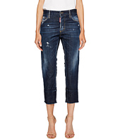 DSQUARED2 - Best Blue Wash Boyfriend Jeans