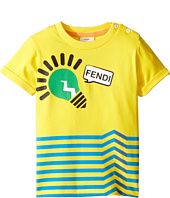 Fendi Kids - Short Sleeve Logo Light Bulb Graphic T-Shirt (Infant)