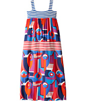 Junior Gaultier - Multi Print Long Dress (Big Kids)