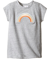 Chloe Kids - Rainbow Milano Short Sleeve Dress (Toddler/Little Kids)