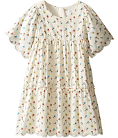 Chloe Kids - Flowers Embroidery Dress From Adult Collection (Little Kids/Big Kids)