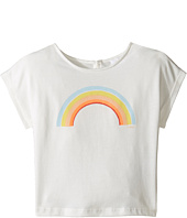 Chloe Kids - Sunglasses Or Rainbow Print Short Sleeve Tee Shirt (Toddler/Little Kids)