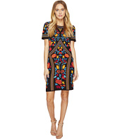 ROMEO & JULIET COUTURE - Floral Geometric Patterned Dress