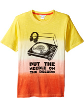Little Marc Jacobs - Record Short Sleeve Tee Shirt (Big Kids)
