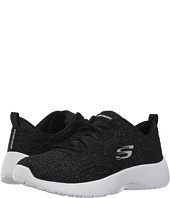 SKECHERS - Sparkle Knit Mesh Lace-Up