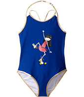 Little Marc Jacobs - One-Piece Miss Marc Swimsuit (Big Kids)