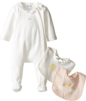 Chloe Kids - Newborn Footie with Two Bibs Set (Infant)