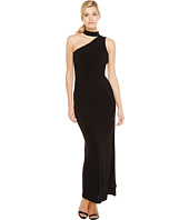 Laundry by Shelli Segal - One Shoulder Mock Neck Gown