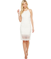 Laundry by Shelli Segal - Fringe Venise Dress with Lace Inserts