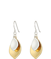 LAUREN Ralph Lauren - Stereo Hearts Hammered Teardrop Double Drop Earrings