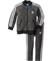 adidas Originals Kids - Superstar Melange Track Set (Infant/Toddler)