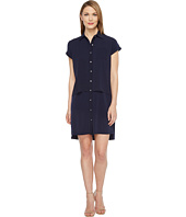 Calvin Klein - Double Layer Chiffon T-Shirt Dress