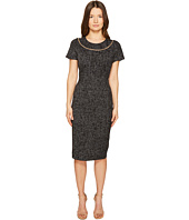 ESCADA - Dsill Short Sleeve Fitted Dress