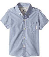 Quiksilver Kids - Everyday Wilsden Short Sleeve Button Up Shirt (Toddler/Little Kids)