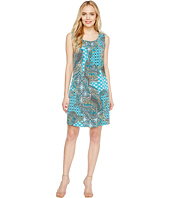 Christin Michaels - Kelly Sleeveless Printed Shift Dress