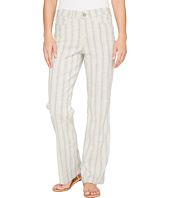 NYDJ - Wylie Trouser in Striped Linen