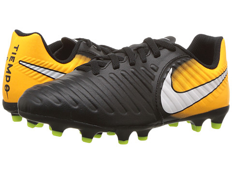 Nike Kids Tiempo Rio IV Firm Ground Soccer Boot (Toddler/Little Kid/Big Kid)