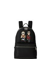 Dolce & Gabbana - Family Nylon Patch Backpack
