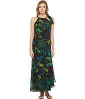 Taylor - Floral Chiffon Shoulder Tie Maxi
