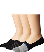 HUE - Color Blocked Loafer Liner 3-Pack