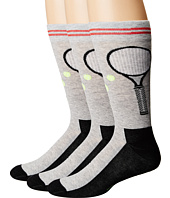 HUE - Tennis Socks with Half Cushion 3-Pack