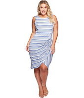 B Collection by Bobeau Curvy - Plus Size Side Gather Tank Dress