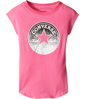 Converse Kids - Dropped Shoulder Tee (Toddler/Little Kids)