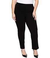 HUE - Plus Size Little Black Cropped Treggings