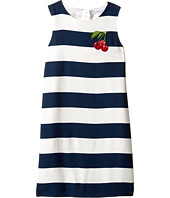 Dolce & Gabbana Kids - Stripe with Cherry Dress (Big Kids)