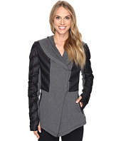 Blanc Noir - Wrap Hooded Coat