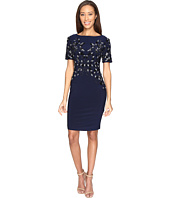 Adrianna Papell - Jersey Beaded Cocktail Dress