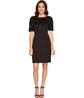 Adrianna Papell - Beaded Sleeve Cocktail Dress