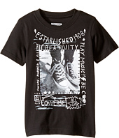 Converse Kids - Doodle Photo Chucks Tee (Toddler/Little Kids)