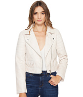 Blank NYC - Vegan Leather Moto Jacket in Gum Drop