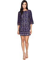Vince Camuto - Lace Elbow Sleeve Shift Dress