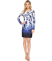 Vince Camuto - Scuba Crepe T-Body Dress with Long Sleeves
