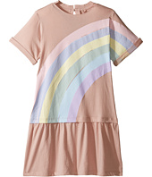 Stella McCartney Kids - Jess Drop Waist Rainbow Dress (Toddler/Little Kids/Big Kids)