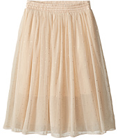 Stella McCartney Kids - Amalie Long Flowy Skirt w/ Gold Polka Dots (Toddler/Little Kids/Big Kids)