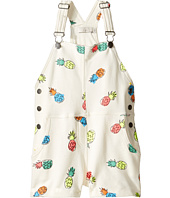 Stella McCartney Kids - Pandora Pineapple Print Jersey Short Overalls (Toddler/Little Kids/Big Kids)