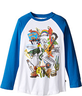 Stella McCartney Kids - Max Multi Graphic Raglan Tee (Toddler/Little Kids/Big Kids)