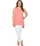 Vince Camuto Specialty Size - Plus Size Sleeveless High-Low Hem Tank Top