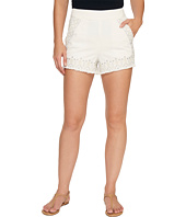 Blank NYC - Embroidered Shorts in Snow Flake