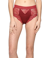ELSE - Lilly Silk and Lace High Waist Brief