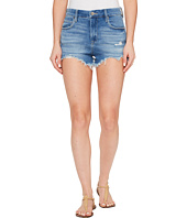 Blank NYC - Denim High-Rise Shorts in Puppy Love