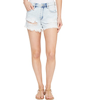 Blank NYC - Denim High-Rise Shorts in Love Stoned